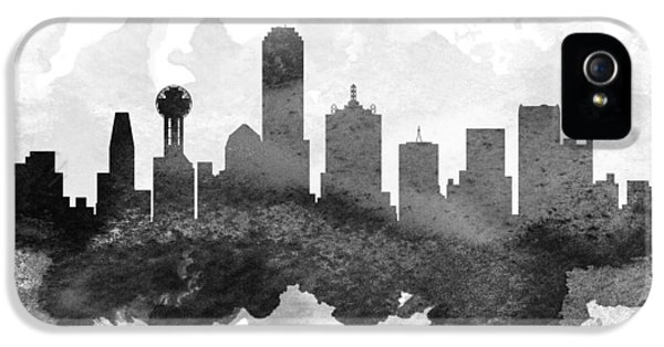 Dallas Cityscape 11 IPhone 5 / 5s Case by Aged Pixel