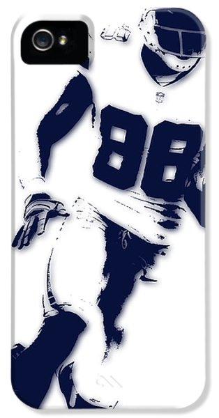 Dallas Cowboys Dez Bryant IPhone 5 / 5s Case by Joe Hamilton