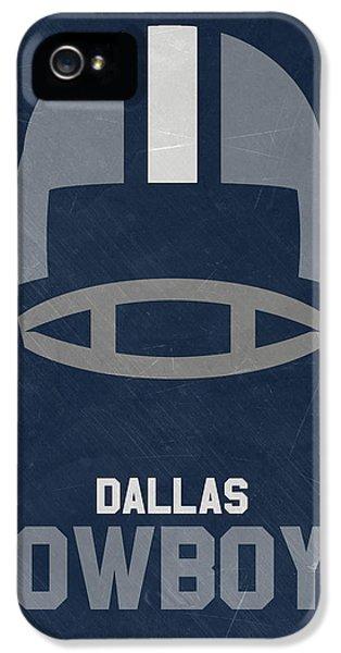 Dallas Cowboys Vintage Art IPhone 5 / 5s Case by Joe Hamilton