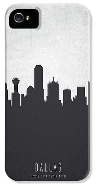 Dallas Texas Cityscape 19 IPhone 5 / 5s Case by Aged Pixel