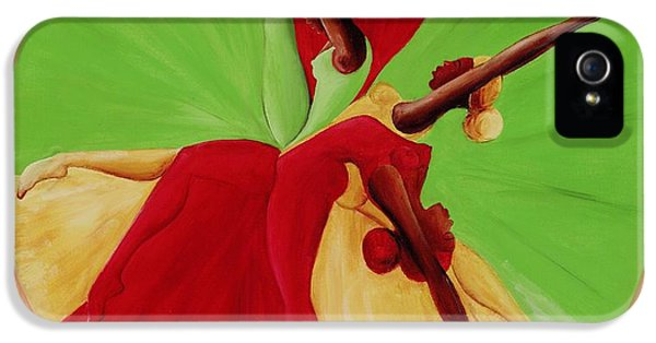 Dance Circle IPhone 5 / 5s Case by Ikahl Beckford