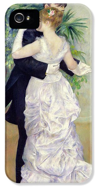 Oil House iPhone 5 Cases - Dance in the City iPhone 5 Case by Pierre Auguste Renoir