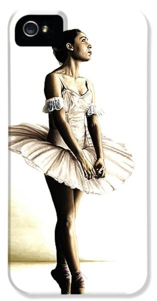 Wait iPhone 5 Cases - Dancer at Peace iPhone 5 Case by Richard Young