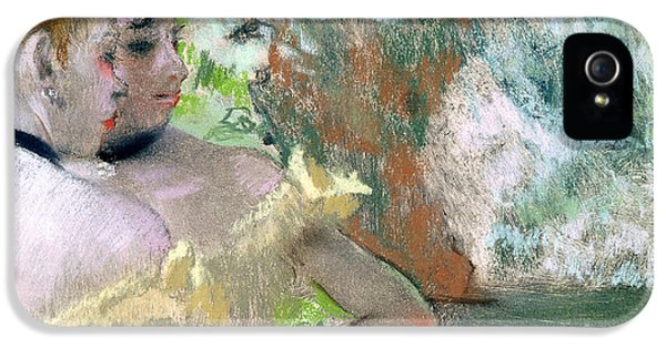 Dancers In The Wings  IPhone 5 / 5s Case by Edgar Degas
