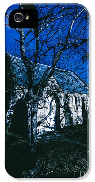 Dark Mysterious Church IPhone 5 / 5s Case by Jorgo Photography - Wall Art Gallery