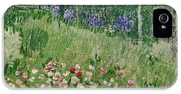 Oil House iPhone 5 Cases - Daubignys Garden iPhone 5 Case by Vincent Van Gogh