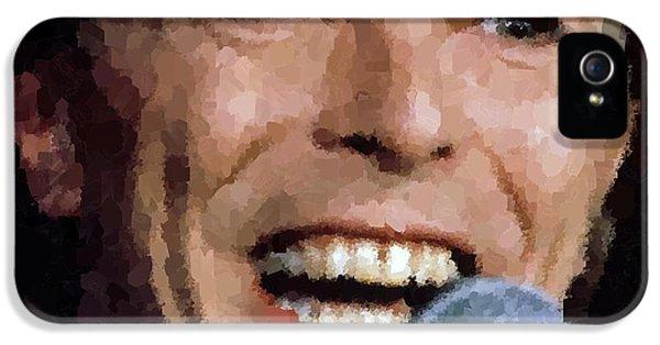 David Bowie IPhone 5 / 5s Case by Samuel Majcen