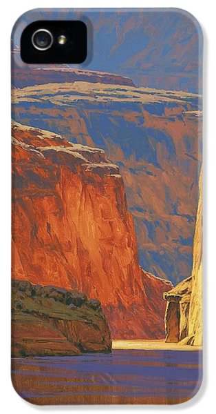 Landscape iPhone 5 Cases - Deep in the Canyon iPhone 5 Case by Cody DeLong