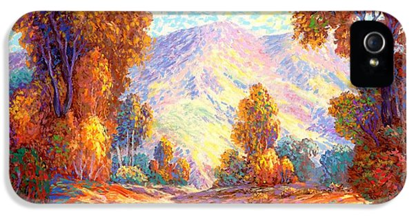 Radiant Peace, Colors Of Fall IPhone 5 / 5s Case by Jane Small