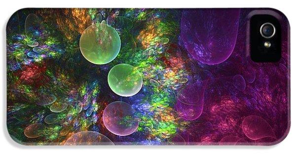 Deep Sea Flora I IPhone 5 / 5s Case by Amorina Ashton