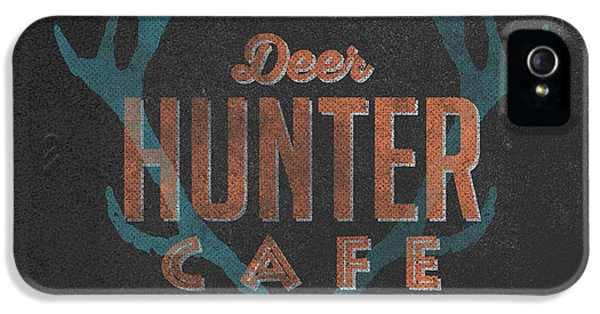 Deer Hunter Cafe IPhone 5 / 5s Case by Edward Fielding
