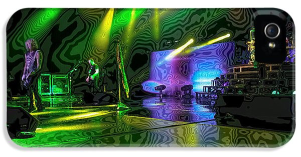 Def Leppard At Saratoga Springs 3 IPhone 5 / 5s Case by David Patterson
