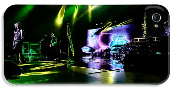 Def Leppard At Saratoga Springs 4 IPhone 5 / 5s Case by David Patterson