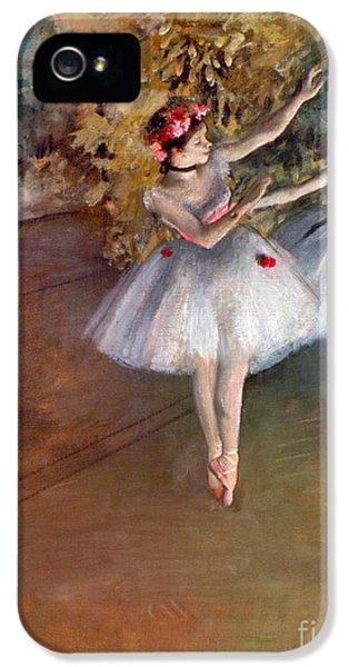 Ballerina iPhone 5 Cases - DEGAS: DANCERS, c1877 iPhone 5 Case by Granger