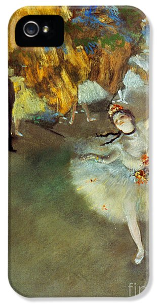 Performance iPhone 5 Cases - Degas: Star, 1876-77 iPhone 5 Case by Granger