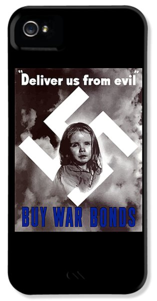 Political iPhone 5 Cases - Deliver Us From Evil iPhone 5 Case by War Is Hell Store