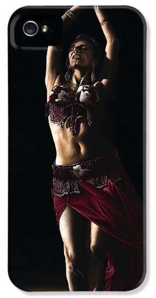 Arab iPhone 5 Cases - Desert Dancer iPhone 5 Case by Richard Young