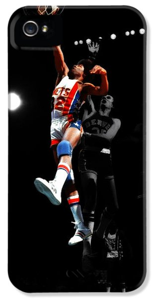Doctor J Over The Top IPhone 5 / 5s Case by Brian Reaves
