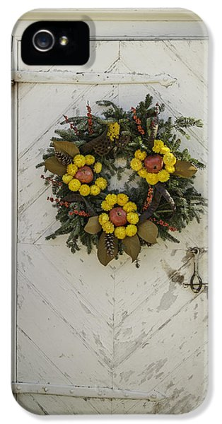 Potting Shed iPhone 5 Cases - Doors of Williamsburg 47 iPhone 5 Case by Teresa Mucha