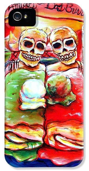 Dos Amigos Dos Burritos IPhone 5 / 5s Case by Heather Calderon