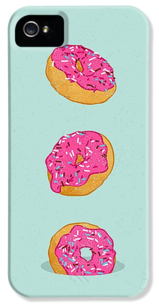 Doughnuts IPhone 5 / 5s Case by Evgenia Chuvardina