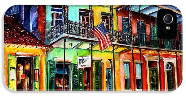Down On Bourbon Street IPhone 5 / 5s Case by Diane Millsap