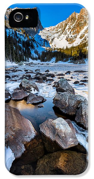 Dream Lake Sunrise IPhone 5 / 5s Case by Andres Leon