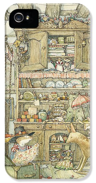 Dressing Up At The Old Oak Palace IPhone 5 / 5s Case by Brambly Hedge
