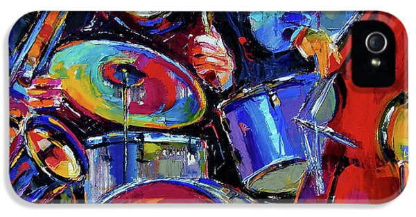 Drums And Friends IPhone 5 / 5s Case by Debra Hurd