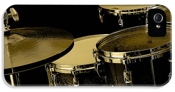 Drums Collection IPhone 5 / 5s Case by Marvin Blaine