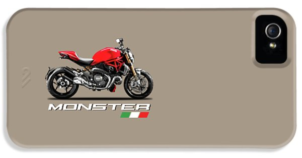 Monster iPhone 5 Cases - Ducati Monster iPhone 5 Case by Mark Rogan