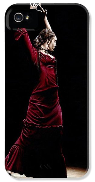 Spotlight iPhone 5 Cases - Duende iPhone 5 Case by Richard Young