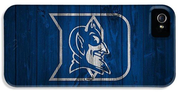 Duke Blue Devils Barn Door IPhone 5 / 5s Case by Dan Sproul