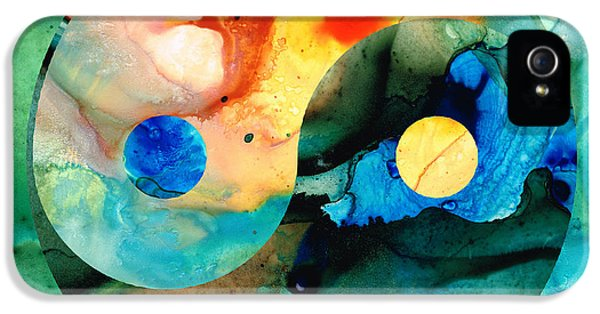 Earth Balance - Yin And Yang Art IPhone 5 / 5s Case by Sharon Cummings