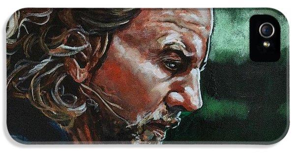 Eddie Vedder IPhone 5 / 5s Case by Joel Tesch
