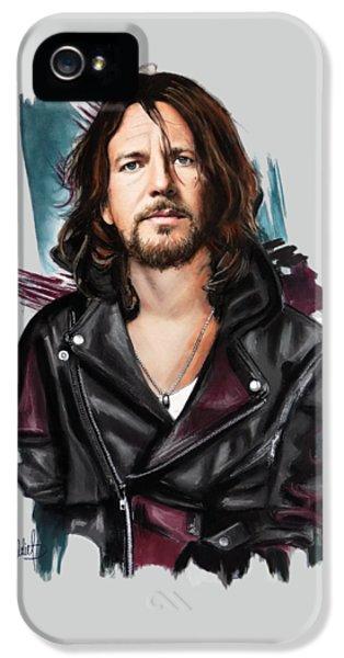 Eddie Vedder IPhone 5 / 5s Case by Melanie D