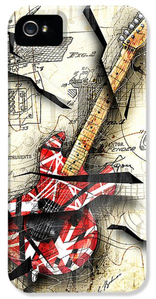 Eddie's Guitar IPhone 5 / 5s Case by Gary Bodnar