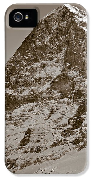 Extreme iPhone 5 Cases - Eiger North Face iPhone 5 Case by Frank Tschakert