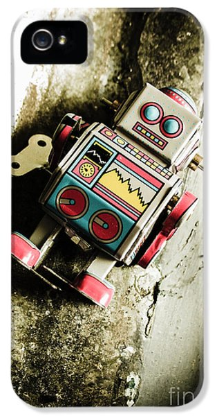 Eighties Cybernetic Droid  IPhone 5 / 5s Case by Jorgo Photography - Wall Art Gallery