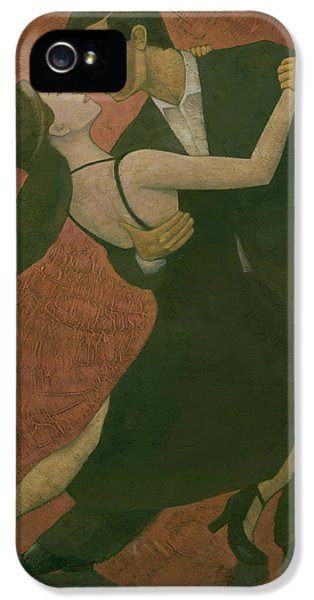 Dance iPhone 5 Cases - El Tango iPhone 5 Case by Steve Mitchell