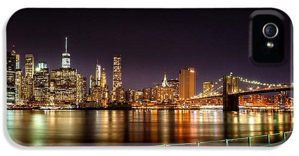 Futuristic iPhone 5 Cases - Electric City iPhone 5 Case by Az Jackson