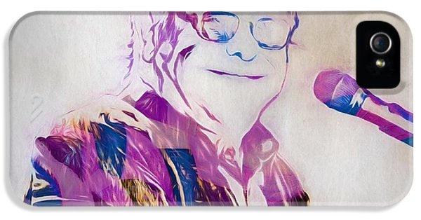 Elton John IPhone 5 / 5s Case by Dan Sproul