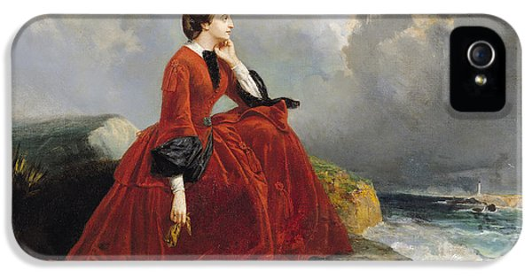 Contemplative iPhone 5 Cases - Empress Eugenie iPhone 5 Case by E Defonds