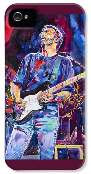 Eric Clapton And Blackie IPhone 5 / 5s Case by David Lloyd Glover