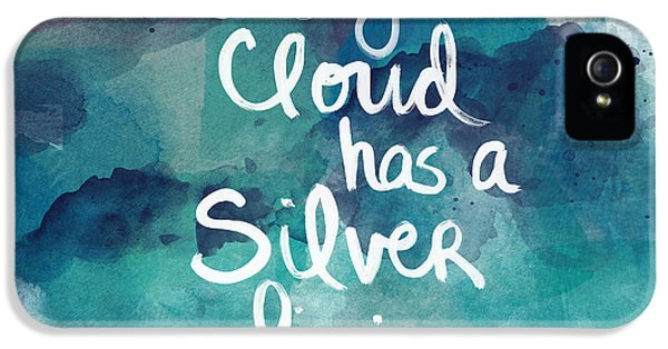 Every Cloud IPhone 5 / 5s Case by Linda Woods