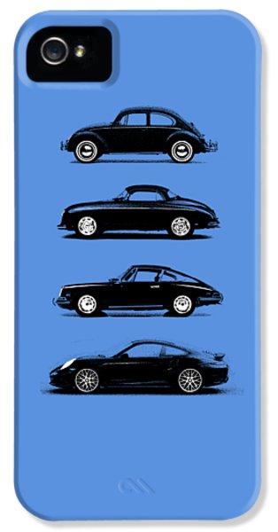 Classic Porsche 911 iPhone 5 Cases - Evolution iPhone 5 Case by Mark Rogan