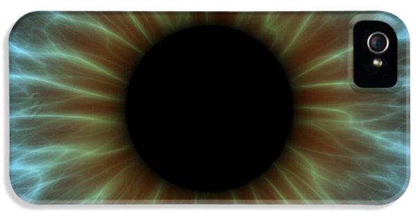 Human Body iPhone 5 Cases - Eye, Iris iPhone 5 Case by Pasieka