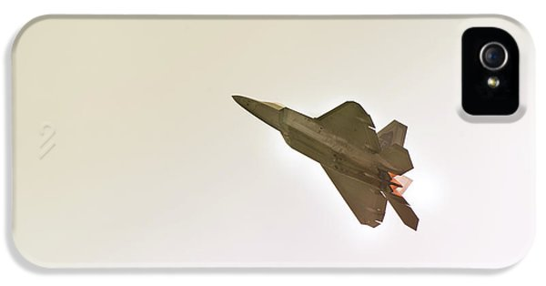 F-22 Raptor IPhone 5 / 5s Case by Sebastian Musial
