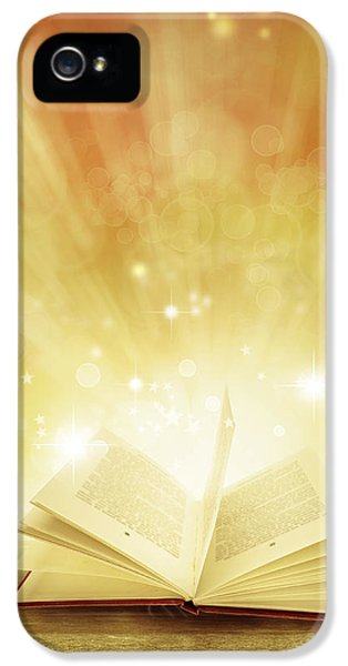 Glowing iPhone 5 Cases - Fairy tales iPhone 5 Case by Les Cunliffe