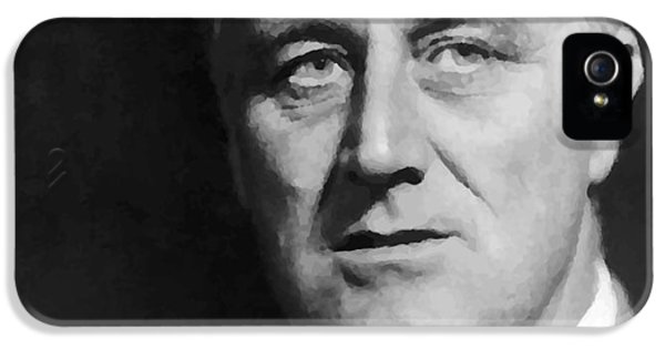 White House iPhone 5 Cases - Fdr iPhone 5 Case by War Is Hell Store